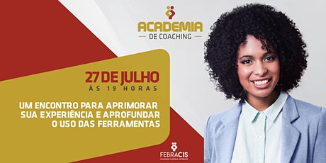 Academia do Coaching bilhetes