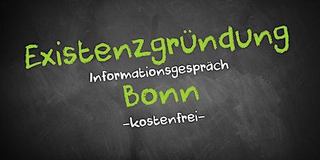 Existenzgründung Online kostenfrei - Infos - AVGS Bonn Tickets