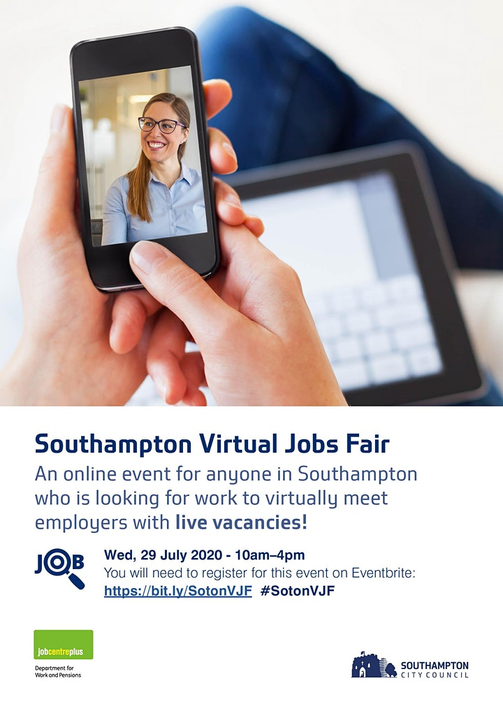 Southampton Virtual Jobs Fair image