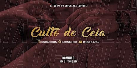 Culto de Ceia bilhetes
