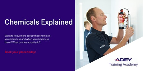 Chemicals Explained tickets