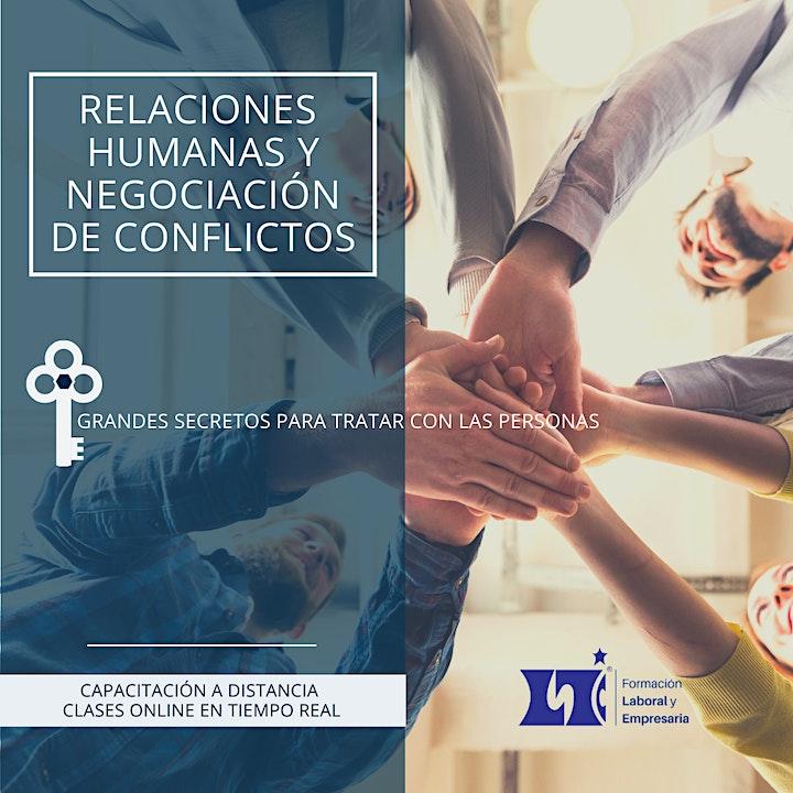 Imagen de TALLER DE RELACIONES HUMANAS  Y MEDIACION DE CONFLICTOS