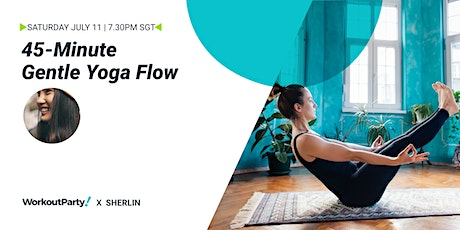 45-Minute Gentle Yoga Flow Class tickets