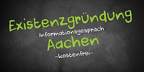 Existenzgründung Online kostenfrei - Infos - AVGS Aachen Tickets
