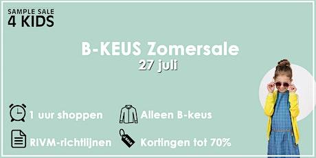 B-keus Zomersale | 27 juli tickets