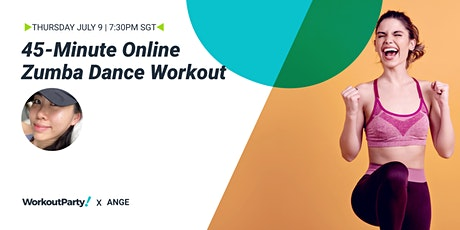 45-Minute Online Zumba Dance Workout tickets