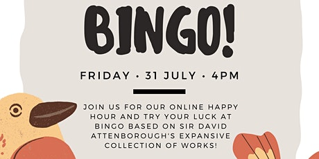 Conservation Research Institute Happy Hour | Bingo tickets