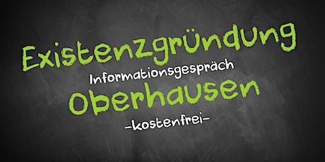 Existenzgründung Online kostenfrei - Infos - AVGS Oberhausen Tickets