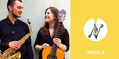 9fest | Aperitivo musicale | Duo saxofono e chitarra classica biglietti