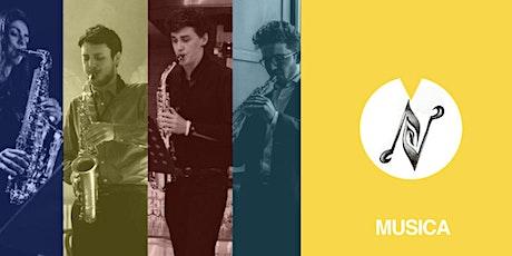 9fest | Aperitivo musicale | Ferrara Saxaphone Quartet biglietti