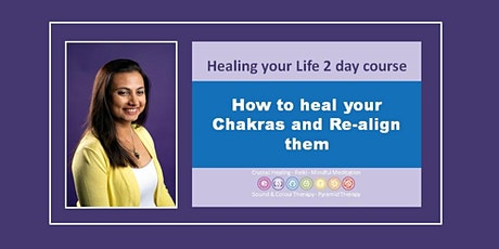 Balance and Re-align your Chakras over 2 Saturday workshop tickets