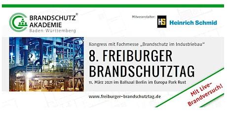 """8. Freiburger Brandschutztag - """"Brandschutz im Industriebau"""" Tickets"""