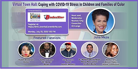 Town Hall: Coping with COVID-19 Stress in Children and Families of Color tickets