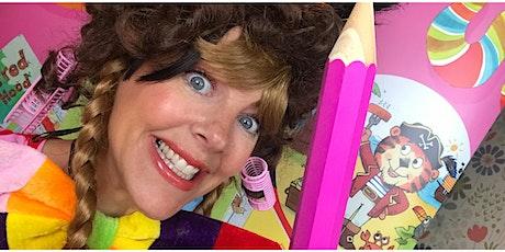 Silly Squad Summer Reading  Challenge cartoon workshop with Liz Million tickets
