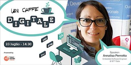 Un caffè digitale biglietti