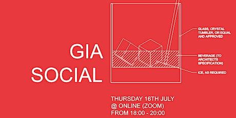 GIA Social tickets