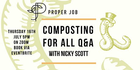 Home Composting For All Q&A With Dr Compost Nicky Scott tickets