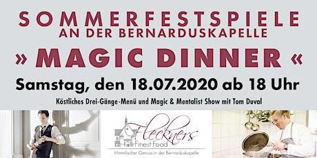 MAGIC DINNER Tickets