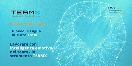 Lavorare con intelligenza emotiva nei team - lo strumento TEAMX biglietti