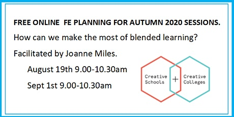 FE PLANNING 2020: How can we make the most of blended learning ? J Miles tickets