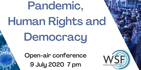 Pandemic, Human Rights and Democracy tickets