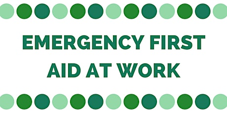 Level 3 Emergency First Aid at Work - Burton tickets