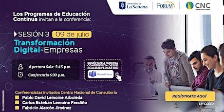 Sesión 3 - Transformación Digital - Empresas entradas