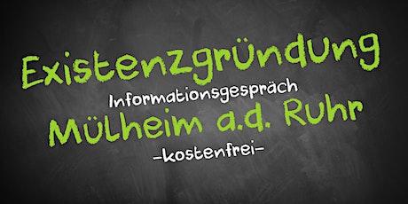 Existenzgründung Infoveranstaltung - Online AVGS Mühlheim a.d. Ruhr Tickets