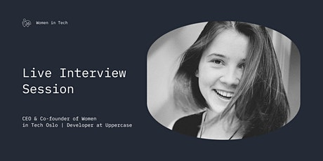 Marina Gotovkina, Women in Tech Oslo CEO | Live Interview #1 tickets