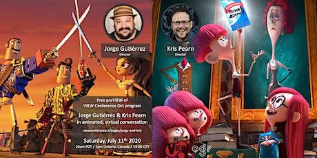 Jorge Gutiérrez & Kris Pearn in Animated Virtual Conversation entradas