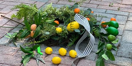 Summer Fruit  Wreath Workshop - Miracle League of Mercer County Fundraiser tickets