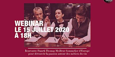 Les métiers du vin - Webinar billets