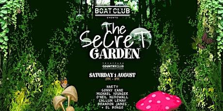 "Boat Club ""The Secret Garden"" tickets"