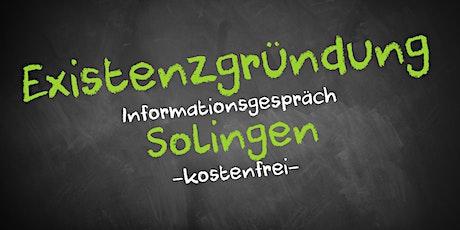 Existenzgründung Online kostenfrei - Infos - AVGS Solingen Tickets