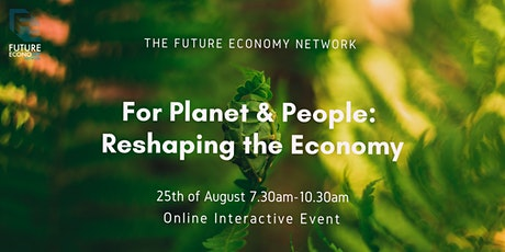 For Planet & People: Reshaping the Economy tickets