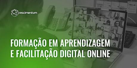 Formação em Aprendizagem e Facilitação Digital Online ingressos