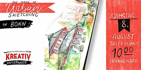 Urban Sketching in Bonn -  Lerne deine Umgebung zu zeichnen Tickets