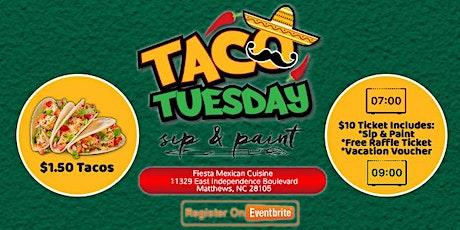Taco Tuesday: Paint & Play tickets