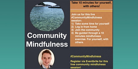 Community Mindfulness Together [ONLINE] tickets