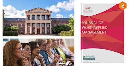 Online Paper Development Workshop - The Journal of Work Applied Management tickets