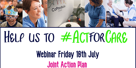 Act for Care: Social Care Workforce Webinar tickets
