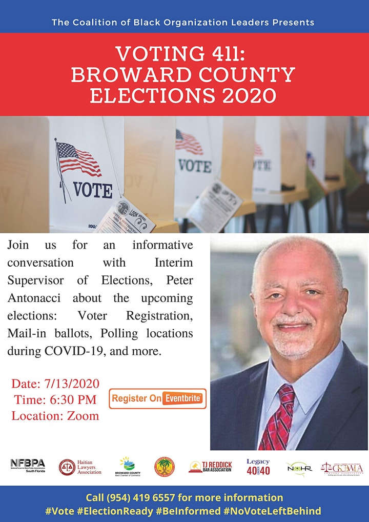 Voting 411: Broward County Elections 2020 image
