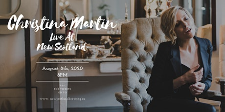 Christina Martin Live at New Scotland Brewing Co. tickets