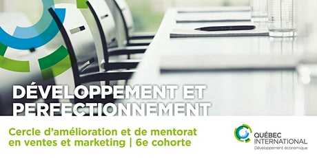 Cercle d'amélioration et de mentorat en ventes et marketing – 6e cohorte tickets