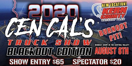 Cen Cals Truck Show 2020 entradas