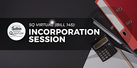 Incorporation Info Session tickets