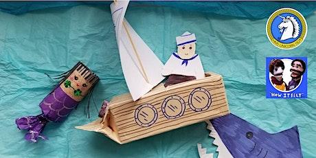 Online Puppet Making Workshop - Mermaids & Mermen tickets