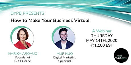 DYPB Webinar - How to Make Your Business Virtual Tickets