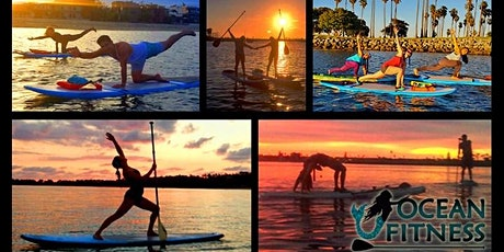 Sunset Paddleboard Yoga & Fitness Class! tickets