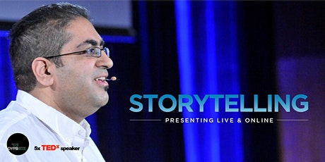 DYPB Webinar - Storytelling: Presenting Powerful Connection Online and Live tickets